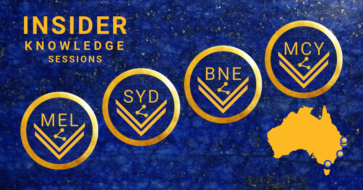 Insider Knowledge sessions - across Australia - People and Business Insights
